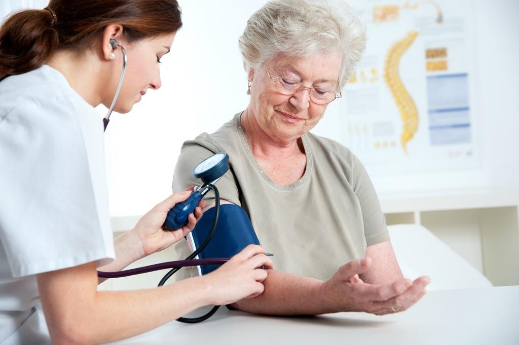 Описание терапевтом жалоб при гипертонической болезни